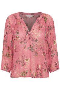 part-two-naisten-paita-erdonae-blouse-pinkki-kuosi-1