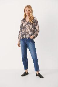 part-two-naisten-paita-erdonae-blouse-ruskea-kuosi-2