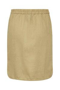part-two-naisten-pellavahame-rhapsody-linen-skirt-kameli-2