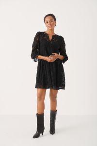 part-two-naisten-pitsimekko-lay-dress-musta-2