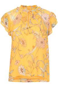 part-two-naisten-pusero-rosario-blouse-keltainen-kuosi-1