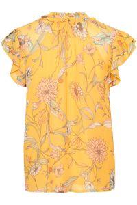 part-two-naisten-pusero-rosario-blouse-keltainen-kuosi-2