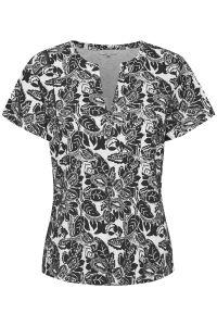 part-two-naisten-t-paita-gesina-t-shirt-musta-kuosi-1