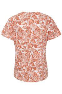 part-two-naisten-t-paita-gesina-t-shirt-oranssi-kuosi-2