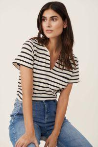 part-two-naisten-t-paita-gesina-t-shirt-raidallinen-musta-1