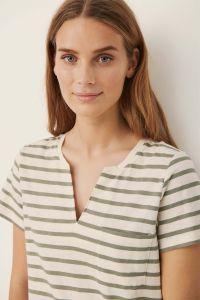 part-two-naisten-t-paita-gesina-t-shirt-raidallinen-vihrea-1