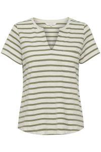 part-two-naisten-t-paita-gesina-t-shirt-raidallinen-vihrea-2