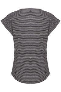 part-two-t-paita-kedita-raidallinen-musta-2