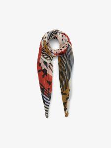 pieces-huivi-pcmai-long-scarf-punainen-kuosi-1