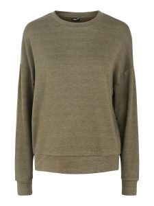 pieces-naisten-collegepaita-relax-ls-blouse-armeijanvihrea-1