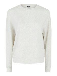 pieces-naisten-collegepaita-relax-ls-blouse-vaaleanharmaa-1