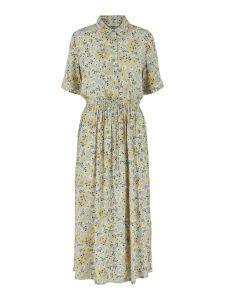 pieces-naisten-mekko-pcdawn-ss-midi-dress-harmaa-kuosi-1