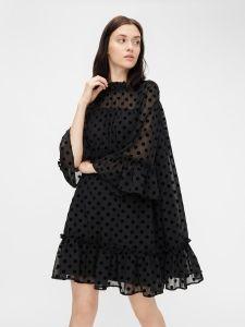 pieces-naisten-mekko-umo-3-4-dress-musta-1