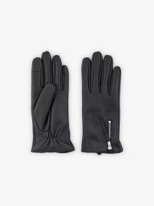 pieces-naisten-nahkakasineet-ussi-leather-golves-musta-1