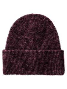 pieces-naisten-pipo-josefine-wool-hood-viininpunainen-1