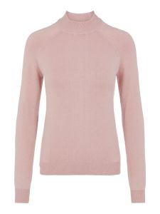 pieces-naisten-pooloneule-estera-ls-high-neck-knit-vaaleanpunainen-1