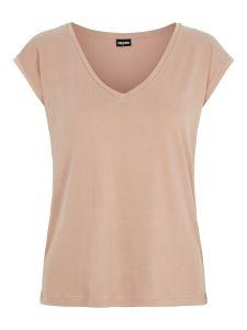 pieces-naisten-t-paita-pckamala-tee-noos-bc-vaalea-beige-1