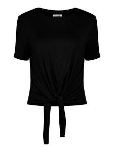 pieces-naisten-t-paita-pcneora-ss-tie-tee-musta-1