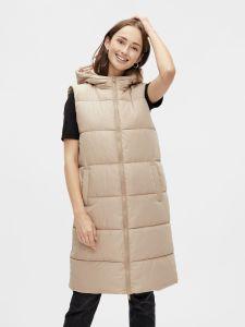 pieces-naisten-toppaliivi-pcbee-new-long-puffer-vest-vaalea-beige-1