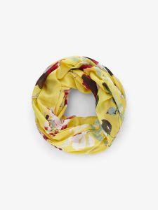 pieces-tuubihuivi-naiomi-tube-scarf-keltainen-kuosi-1