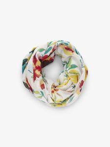 pieces-tuubihuivi-naiomi-tube-scarf-valkopohjainen-kuosi-1