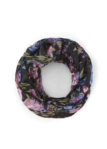 pieces-tuubihuivi-pcduna-tube-scarf-musta-kuosi-1