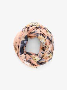 pieces-tuubihuivi-pcmalene-tube-scarf-vaaleanpunainen-kuosi-1
