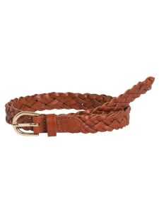 pieces-yvo-pcavery-leather-braided-slim-belt-konjakinruskea-1