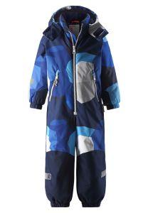 reimatec-lasten-talvihaalari-kiddo-snowy-sininen-kuosi-1