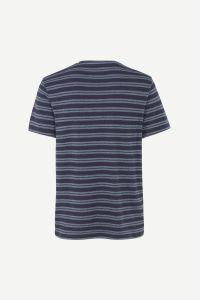 samsoe-and-samsoe-miesten-t-paita-capro-raidallinen-sininen-2