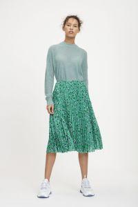 samsoe-and-samsoe-naisten-hame-juliette-skirt-vihrea-kuosi-1