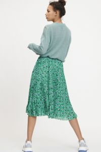 samsoe-and-samsoe-naisten-hame-juliette-skirt-vihrea-kuosi-2
