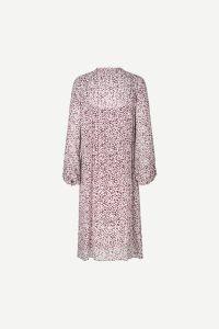 samsoe-and-samsoe-naisten-mekko-elma-shirt-dress-aop-9695-viininpunainen-kuosi-2