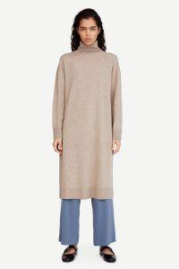 samsoe-and-samsoe-naisten-neulemekko-amaris-dress-12758-ruskeanharmaa-1