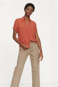 samsoe-and-samsoe-naisten-paita-majan-ss-shirt-9942-poltettu-oranssi-1