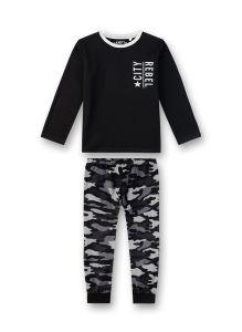 sanetta-jr-poikien-pyjama-camo-poikien-pyjama-musta-kuosi-1