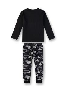 sanetta-jr-poikien-pyjama-camo-poikien-pyjama-musta-kuosi-2