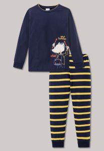 schiesser-lasten-pyjama-kids-poikien-pyjama-henry-tummansininen-1