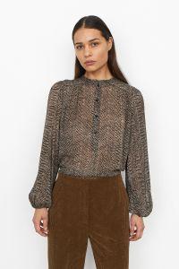 second-female-naisten-sifonkipusero-severine-blouse-beige-kuosi-1
