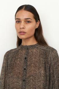 second-female-naisten-sifonkipusero-severine-blouse-beige-kuosi-2