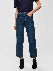 selected-femme-farkut-slfkate-straight-inky-jeans-tummansininen-1