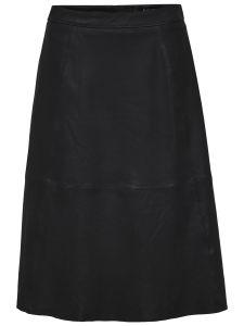 selected-femme-nahkahame-marla-hw-midi-leather-skirt-musta-1