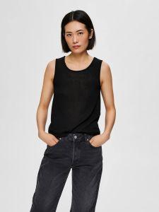 selected-femme-naisen-paita-slfmoon-sl-knit-top-musta-1