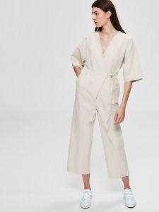 selected-femme-naisten-haalari-malvina-2-4-jumpsuit-beige-1