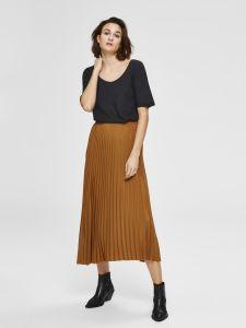 selected-femme-naisten-hame-alexis-mw-midi-skirt-kameli-2