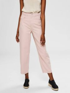 selected-femme-naisten-housut-slfelli-hw-light-pink-volume-jeans-vaaleanpunainen-1
