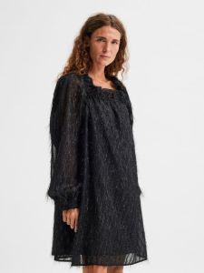 selected-femme-naisten-mekko-slfantea-ls-short-dress-musta-1