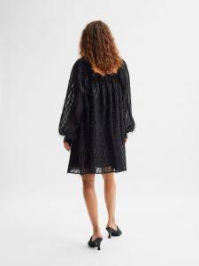 selected-femme-naisten-mekko-slfantea-ls-short-dress-musta-2