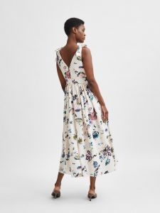 selected-femme-naisten-mekko-slfgarden-ankle-gown-dress-monivarinen-kuosi-2