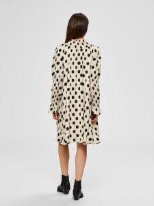 selected-femme-naisten-mekko-slfsirene-gracy-ls-short-dress-mustavalkoinen-2